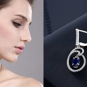 Sapphire Drop Earrings – The Design Declaration of the Stylish Lady